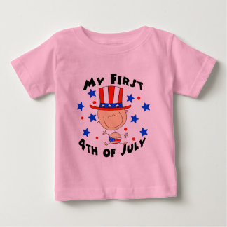 Baby's First 4th of July Shirt