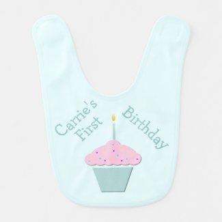Baby's First Birthday Custom Bib