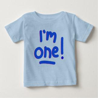 "BABY'S FIRST BIRTHDAY - ""I'M ONE!"" SHIRT"