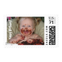 Baby's First Birthday Postage