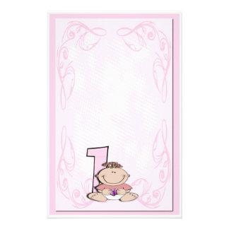 Baby's First Birthday Stationery