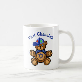 Baby's First Chanukah Classic White Coffee Mug