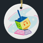 "Baby's First Chanukah Ornament<br><div class=""desc"">First Chanukah for baby. Add your baby"