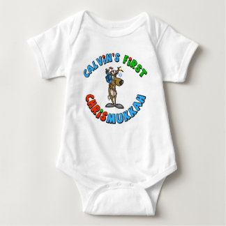 Baby's First Chrismukkah Baby Shirt Customized