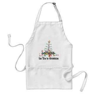 Baby's First Christmas Adult Apron