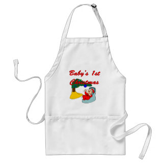 Baby's First Christmas Aprons