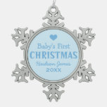 Baby's First Christmas | Baby Boy Ornament
