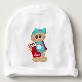 """Baby's First Christmas"" BABY HAT"