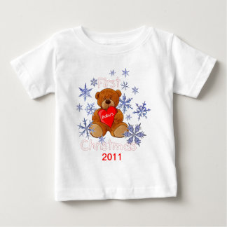 Baby's First Christmas Baby T-Shirt