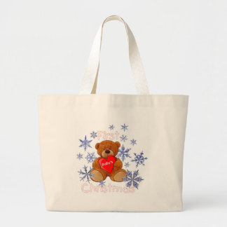 Baby's First Christmas Canvas Bags