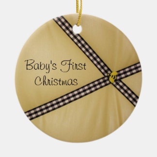 Baby's First Christmas Bumble Bee Ornament