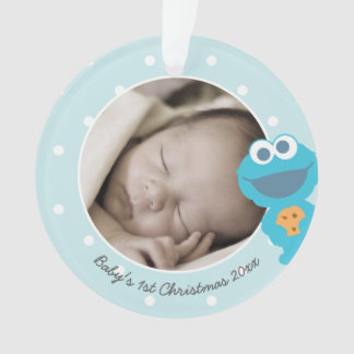 Baby's First Christmas - Cookie Monster Ornament