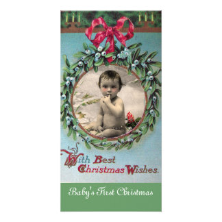 BABY'S FIRST CHRISTMAS CROWN PHOTO TEMPLATE