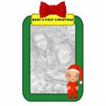 Baby's First Christmas Custom Photo Ornament