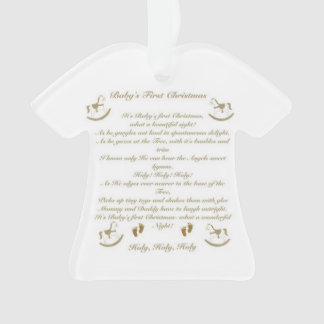 First Christmas Poem Gifts on Zazzle
