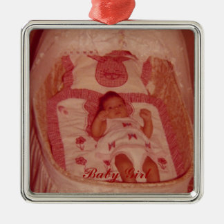 Baby's First Christmas-Customize Metal Ornament