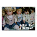 """""""BABY'S FIRST CHRISTMAS"""" from LOTS OF BABYDOLLS Cards"""