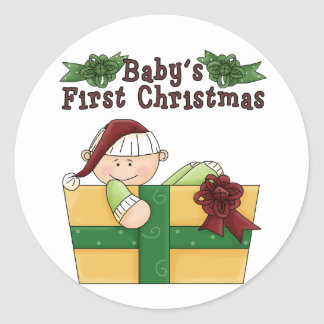 Baby's First Christmas Fun Stickers
