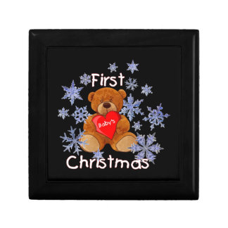 Baby's First Christmas Gift Box