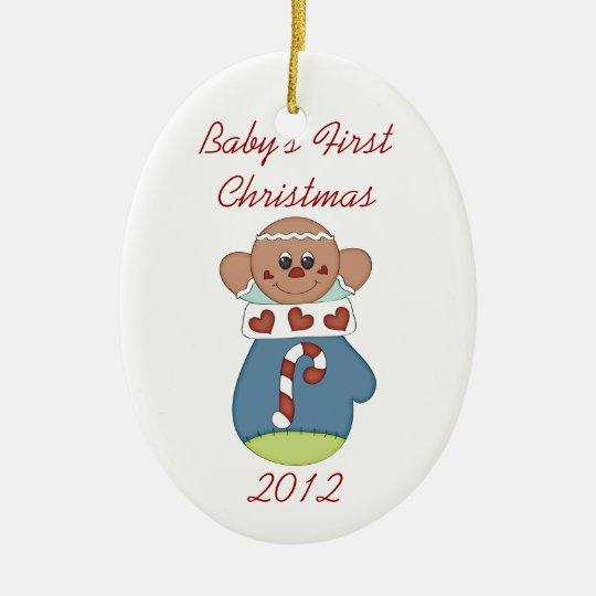 Baby's First Christmas Gingerbread Baby Ornament