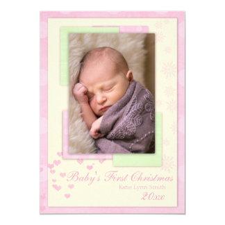 Baby's First Christmas (girl) Card