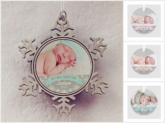Baby's First Christmas | Holiday Ornaments