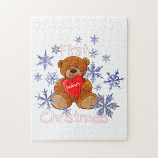 Baby's First Christmas Jigsaw Puzzle