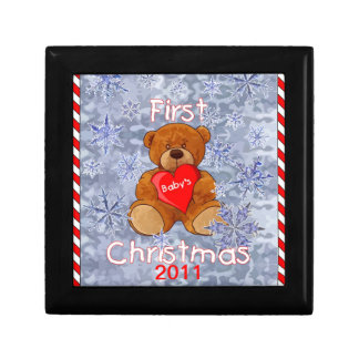 Baby's First Christmas Keepsake Boxes