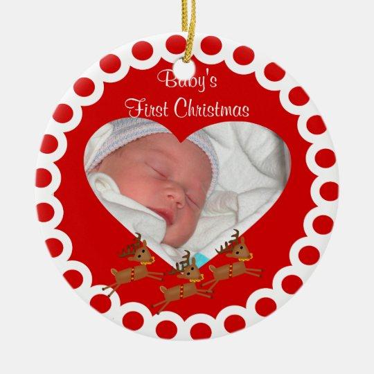Babys First Christmas Keepsake Ornament