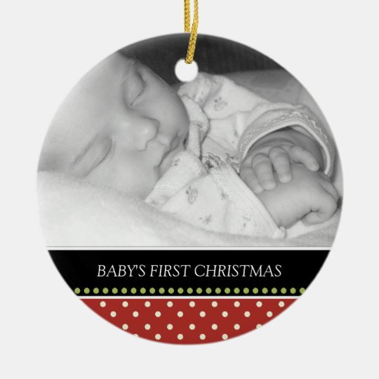 Baby's First Christmas Keepsake Ornaments