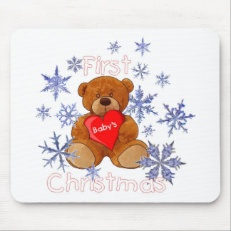 Baby's First Christmas Mousepads