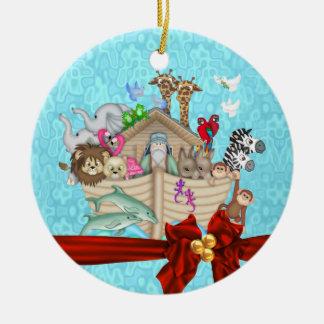 BABY'S FIRST CHRISTMAS  NOAHS ARK ORNAMENT