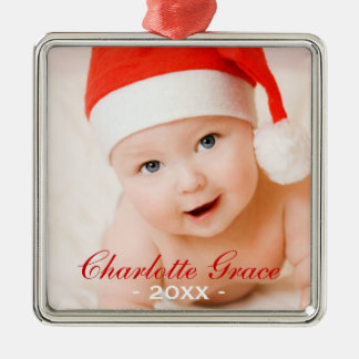 Baby's First Christmas Ornament | Custom Photo