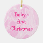 Baby's First Christmas ornament, Customize!