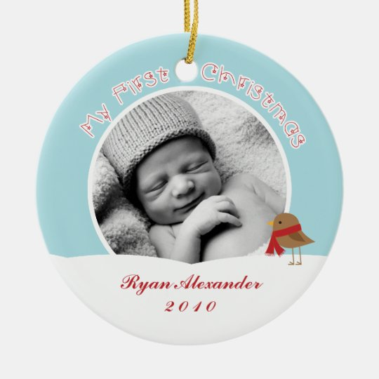 Baby's First Christmas Ornaments