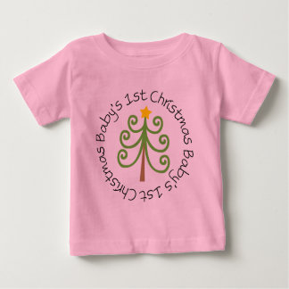 Baby's First Christmas Outfit T Shirts