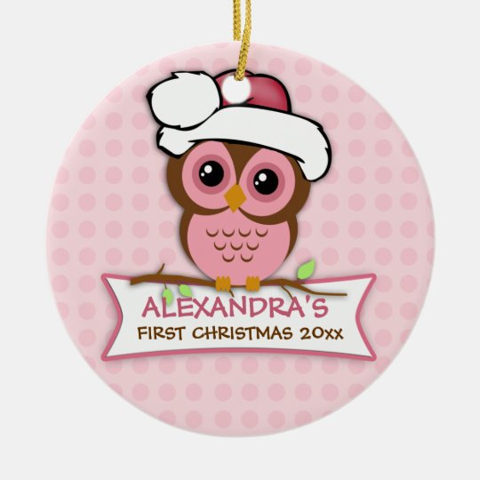babys first christmas owl ornament - Babys First Christmas Photos