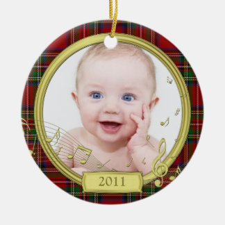 Baby's First Christmas Photo Template Ornament