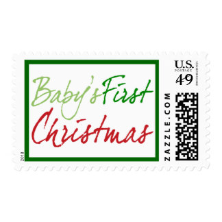 Baby's First Christmas Postage