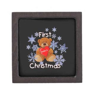 Baby's First Christmas Premium Gift Box