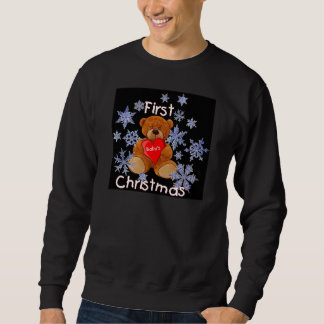 Baby's First Christmas Pullover Sweatshirt