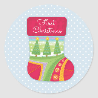 Baby's First Christmas Stickers