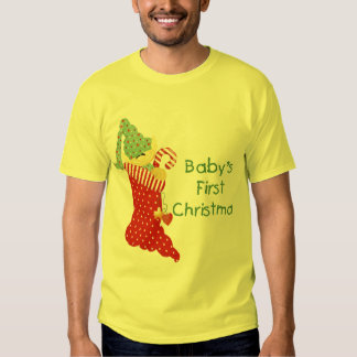 Baby's First Christmas T Shirt