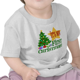 Babys First Christmas T-shirt