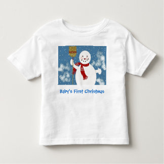 Baby's First Christmas Toddler T-shirt