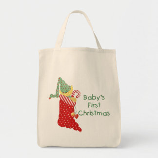Baby's First Christmas Tote Bag