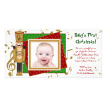 Baby's First Christmas Toy Soldier Photo Cards