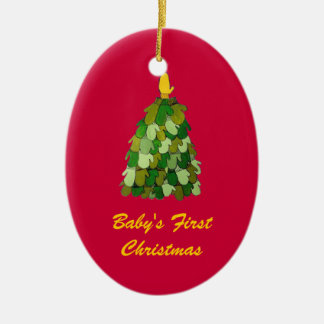 Baby's First Christmas Tree  Ornament