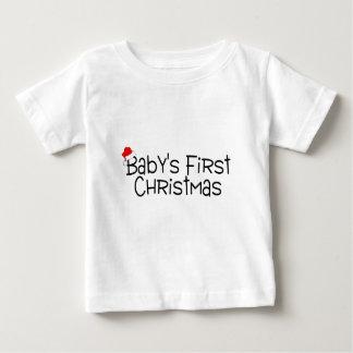 Babys First Christmas Tee Shirts
