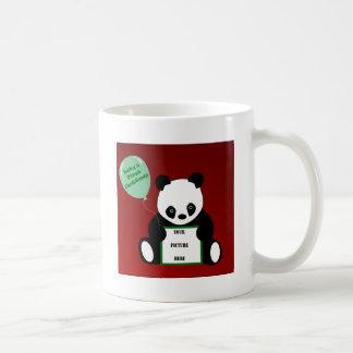 BABY'S FIRST CHRISTMAS! v.2 (Panda Motif) ~ Classic White Coffee Mug